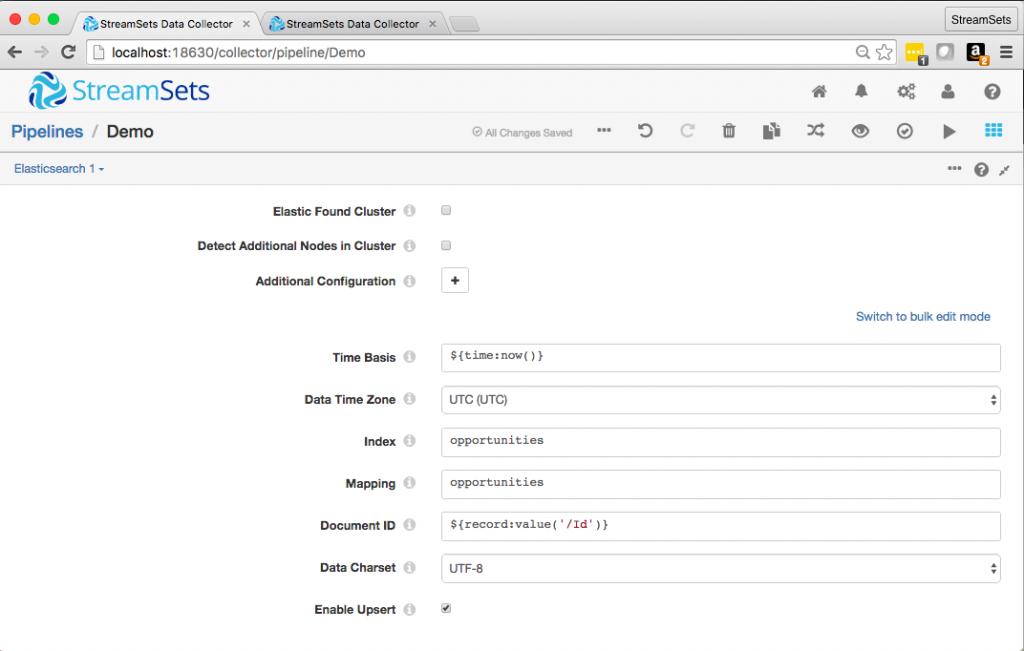 Elasticsearch Config