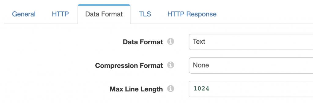 Origin data format