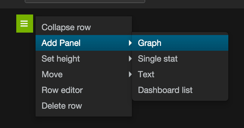 Add new graph to dashboard