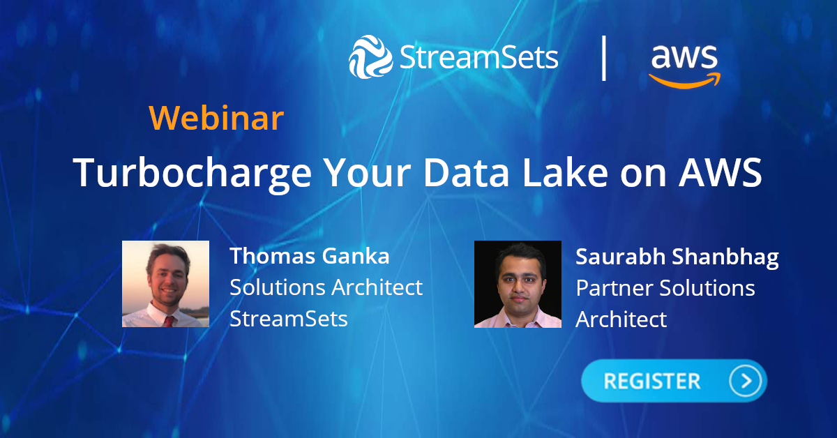 Data Lake on AWS with StreamSets