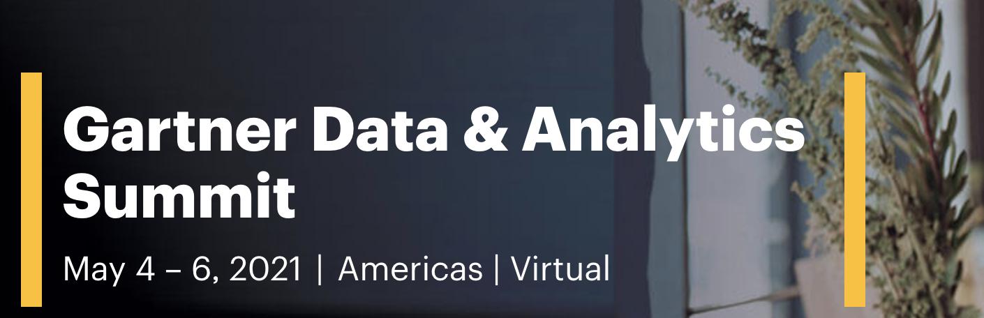 Gartner Data & Analytics Summit Americas