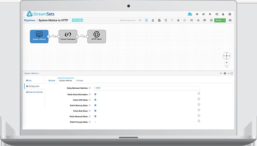 Data Collector Edge Screenshot