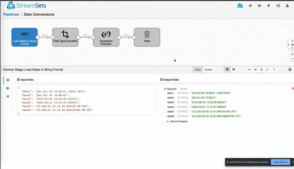 Set Data Pipeline Rules For Amazon S3 In StreamSets Data Collector